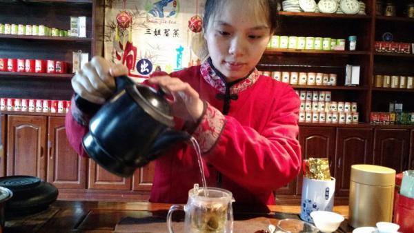 Adventures in China! Tea tasting